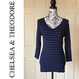 Chelsea and Theodore Sweater Large NWT